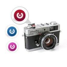 Selens – bouton d'obturation pour appareil photo numérique, cordon de déclenchement pour appareil photo coloré, Fujifilm Minolta, rouge, rose, bleu, 3 en 1