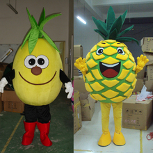 Fruit mascot and pineapple costume cosplay