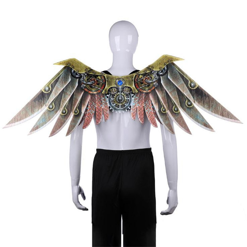 Adult Children Anime Punk Blade Wing Prop Cosplay Decorate Halloween Carnival Christmas Party Dress Up Costume For Kids Unisex