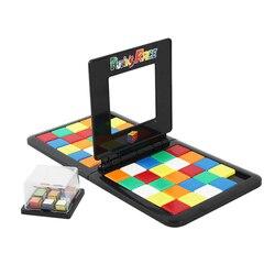 Nueva llegada único móvil de Cubo Doble Modo de batalla competitiva rompecabezas juegos de mesa juguetes para los niños de los adultos