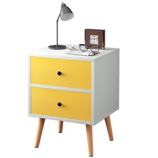 Meuble Maison Night Stand Nordic European Shabby Chic Wooden Quarto Bedroom Furniture Cabinet Mueble De Dormitorio Nightstand