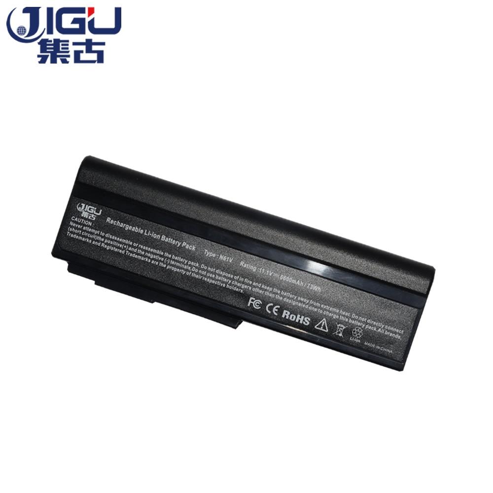 JIGU Laptop Battery For Asus G50 G50EG50T G51 X55Sa X55Sr X55Sv X57Q X57Sr X57Vc M60V M60J M60W N53S N53 G50V N43
