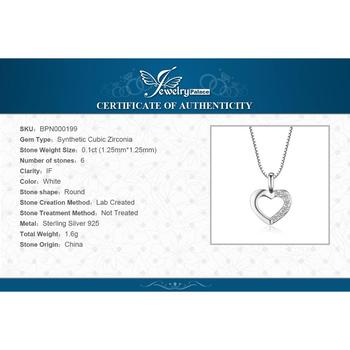 Heart Sterling Silver Pendant Necklace 5