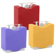 1 pcs Weight Lifter Automatic Toothpick Holder Bucket Home Bar Table Accessories Random Color(China)