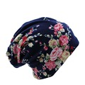 Surprise Price New Fashion 2 Used Women Flower Hat Scarf Knit Autumn Caps 4 Colors Casual Beanies Skullies Solid Bonnet Sale