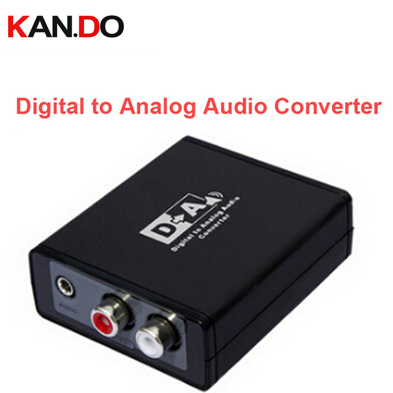 3088 Digital to Analog Audio Converter Box// S/PDIF or Optical(toslink) Digital to Analog L/R Audio/3.5mm Audio Decoder кабели межблочные аудио silent wire series reference optical toslink 8 0m