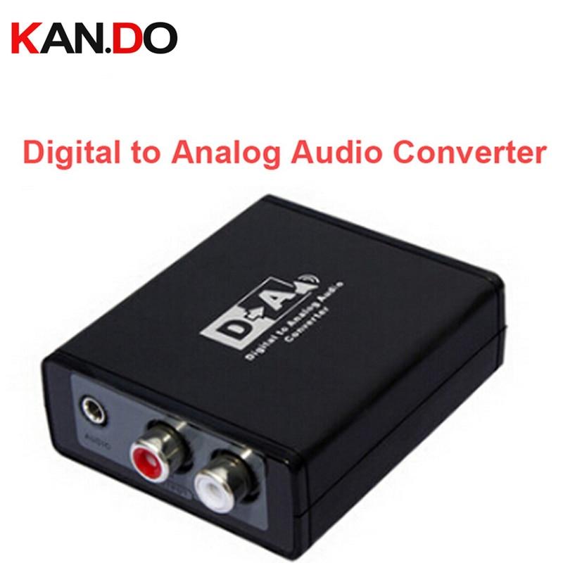 3088 Digital To Analog Audio Converter Box// S/PDIF Or Optical(toslink) Digital To Analog L/R Audio/3.5mm Audio Decoder