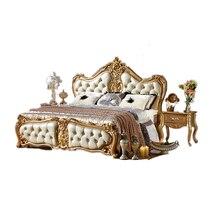 Современный американский стиль Королевский мебель под старину 5-звездочный отель мебель для спальни