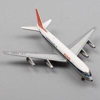 11cm Mini Scale Schuco Jets Venezuela Viasa Airways Boeing 747 Airplane Modeling Diecast Metal Aircraft Toy