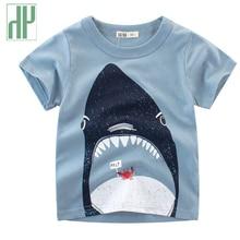 Toddler Boys Tshirts Animal Print Dinosaur Tshirt Children Clothing Short Sleeve Summer Top Tee Kids Costume 2 6 10 Years