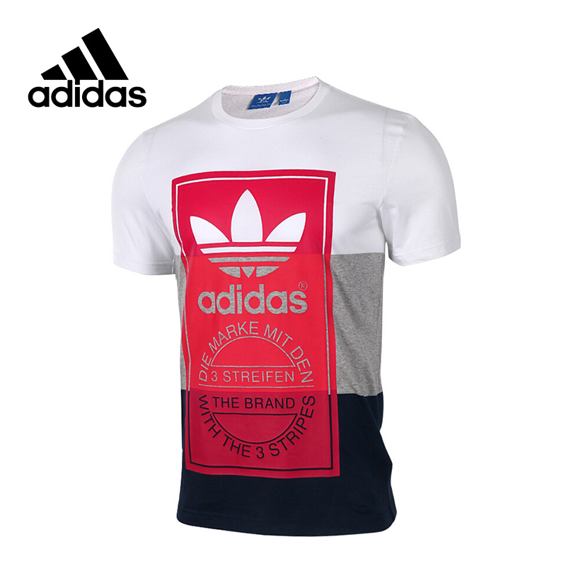 New Arrival 2017 Original Adidas Originals PANEL TONGUE TE Men's T-shirts short sleeve Sportswear original new arrival 2017 adidas freelift prime men s t shirts short sleeve sportswear