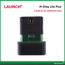 Launch M-Diag Lite Plus For IOS Android Built-in Bluetooth M diag OBDII Diagnostic Tool Support Both Write And Read Mdiag
