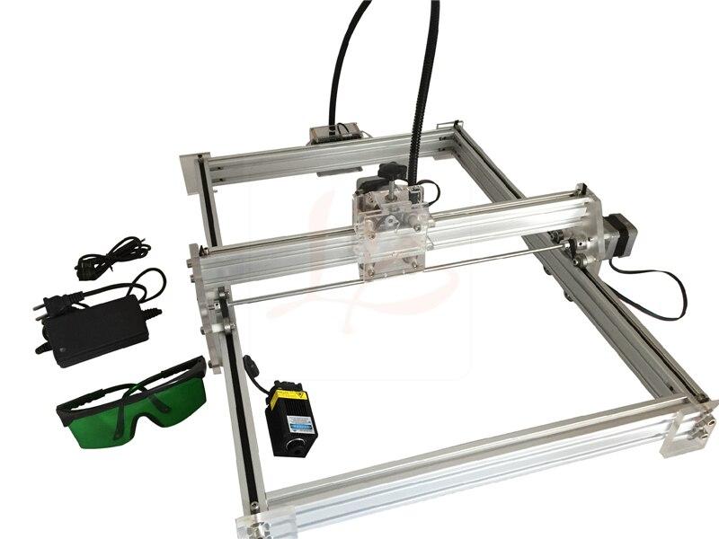 EUR free tax Disassembled New LY 10W laser 10000MW diy metal laser engraving machine 35*50cm mini CNC ROUTER eur free tax cnc 6040z frame of engraving and milling machine for diy cnc router