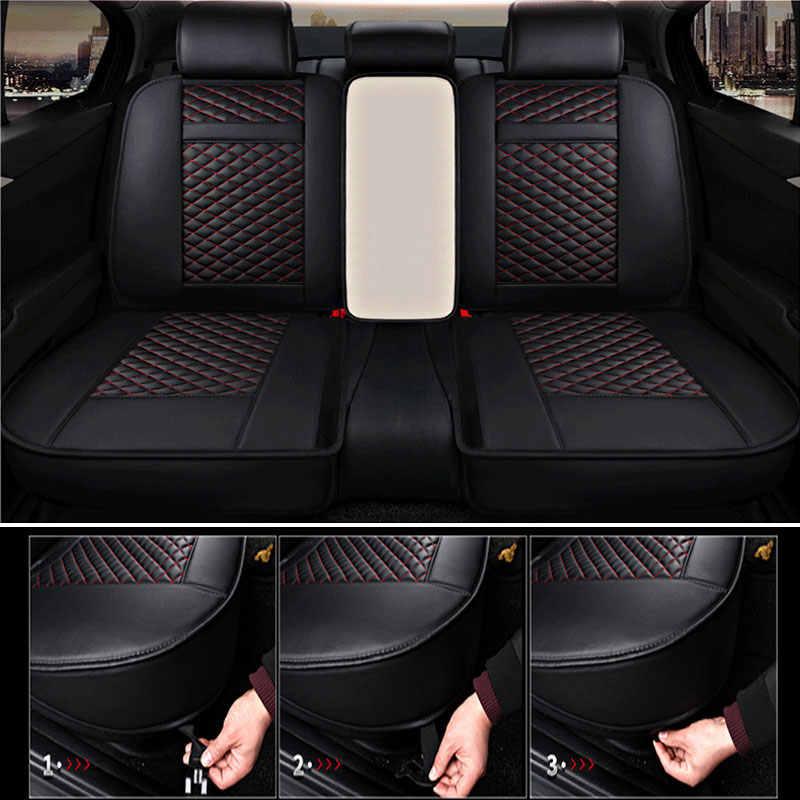 Automatique en cuir housse de siège de voiture universelle coussin protecteur pour benz mercedes w110 w114 w115 w123 t123 w124 t124 w210 w245 w460 B250