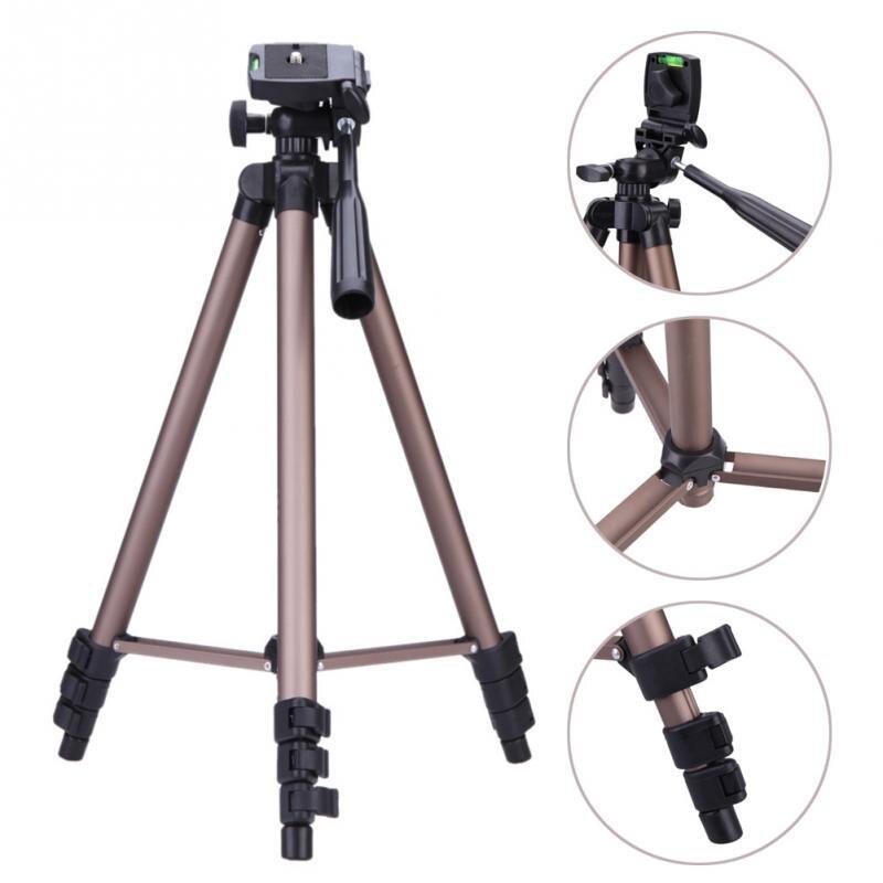 WT3130 trípode de cámara con brazo oscilante soporte Monopod Styling accesorios para Canon Nikon DSLR Cámara videocámara