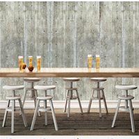 Beibehang Custom Murals 3d Photo Wallpaper Cement Wall Concrete Living Room Background Wall Painting Restaurant Hotel