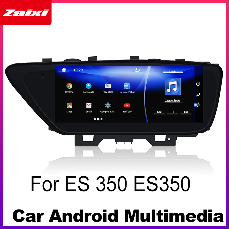 Android 7,0 coche reproductor Multimedia de Lexus IS 350 ES350 2014 ~ 2017 WiFi GPS Navi mapa Bluetooth Estéreo 1080 p IPS pantalla