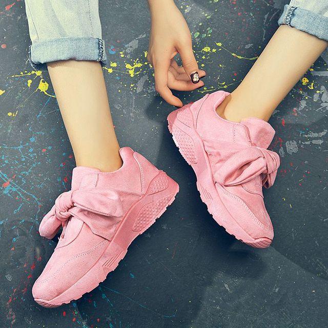3978247394a Zapatos grandes para mujer 36-42 2018 nuevos zapatos de satén con lazo para  exteriores