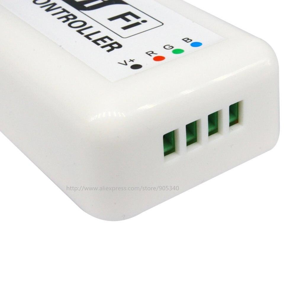MINI LED WIFI Controller rgb DC12-24V 12A RGB LED շերտի - Լուսավորության պարագաներ - Լուսանկար 3