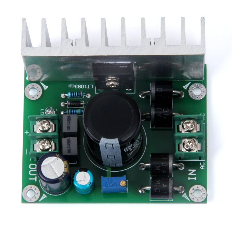 LT1083cp 7A Large Current Adjustable Regulated Power Supply Board 1083 AC to DC кастрюля taller tr 1083