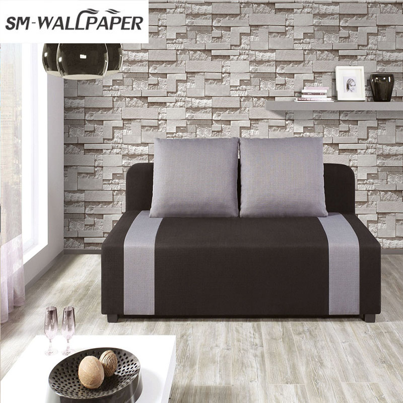 Modern Stacked 3d Stone Wallpaper Roll  Brick For Living Room Vinyl Wallpaper battlefield 3 или modern warfare 3 что