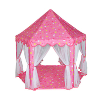Portable Princess Castle Play Tent Children Activity Fairy House Kids Funny Indoor Outdoor Playhouse Beach Tent