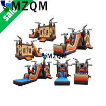 MZQ 10*4.5 inflatable slide,inflatable water slide, inflatable water slide with pool for kids