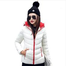 Detachable Hat Warm Winter Jacket Women White Duck Down Coat Women Solid Short Coat Plus Size Thick Winter Down Parkas Outerwear