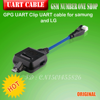 100% original GPG UART Clip UART cable for samung and LG 100% new and original xbc dr30su ls lg plc controller