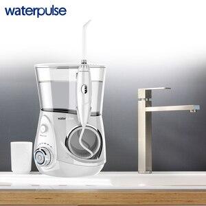 Image 4 - Waterpulse V660 プロ 7 ノズル口腔洗浄器 12 圧力フロスマッサージ歯科水電気フロッサ洗浄器口腔水歯科