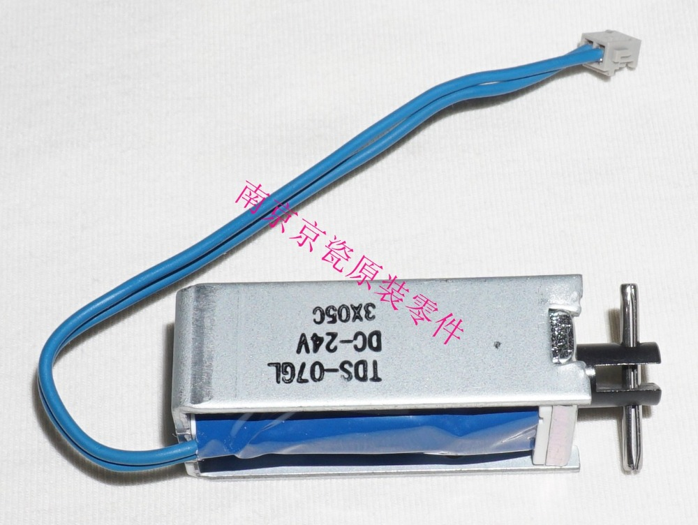 New Original Kyocera ADF 303LJ94150 SOLENOID FEED SHIFT for:FS-1128 1130 1135 3140 C2126 M2030 M2530 M2035 M2535 KM-2820 new original kyocera 3h607020 3ll07190 3jx07330 3ll07520 pulley feed adf 1 set of 4 for ta420i 520i 250ci 500ci dp 750 760
