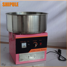 220v electric Pink color commercial Cotton candy maker marshmallow machine candy floss machine spun sugar machine