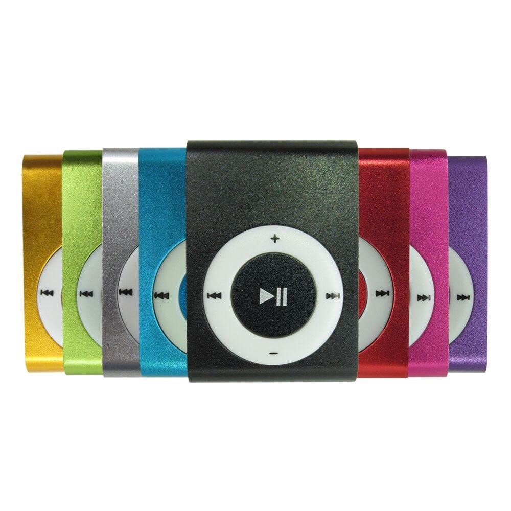 Unterhaltungselektronik Szkoston Metall Mini Mp3 Musik-player Mit Micro Tf Sd Slot Und Clip 8 Farben Schwarz Silber Blau Grün Rot Rose Rot Lila Gold Auswahlmaterialien Tragbares Audio & Video
