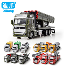 HOT 12style Truck Toy Model Alloy Pull Back wheels Baby Cars Wheels Fire Tractor High Quality Dinky Toys brinquedo menino Gift