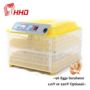 12V 220V 96 Eggs Full Automatic Egg Incubator for Chicken Duck Eggs Automatic Turn Hatchery Brooder Digital Thermostat Control - DISCOUNT ITEM  10% OFF All Category