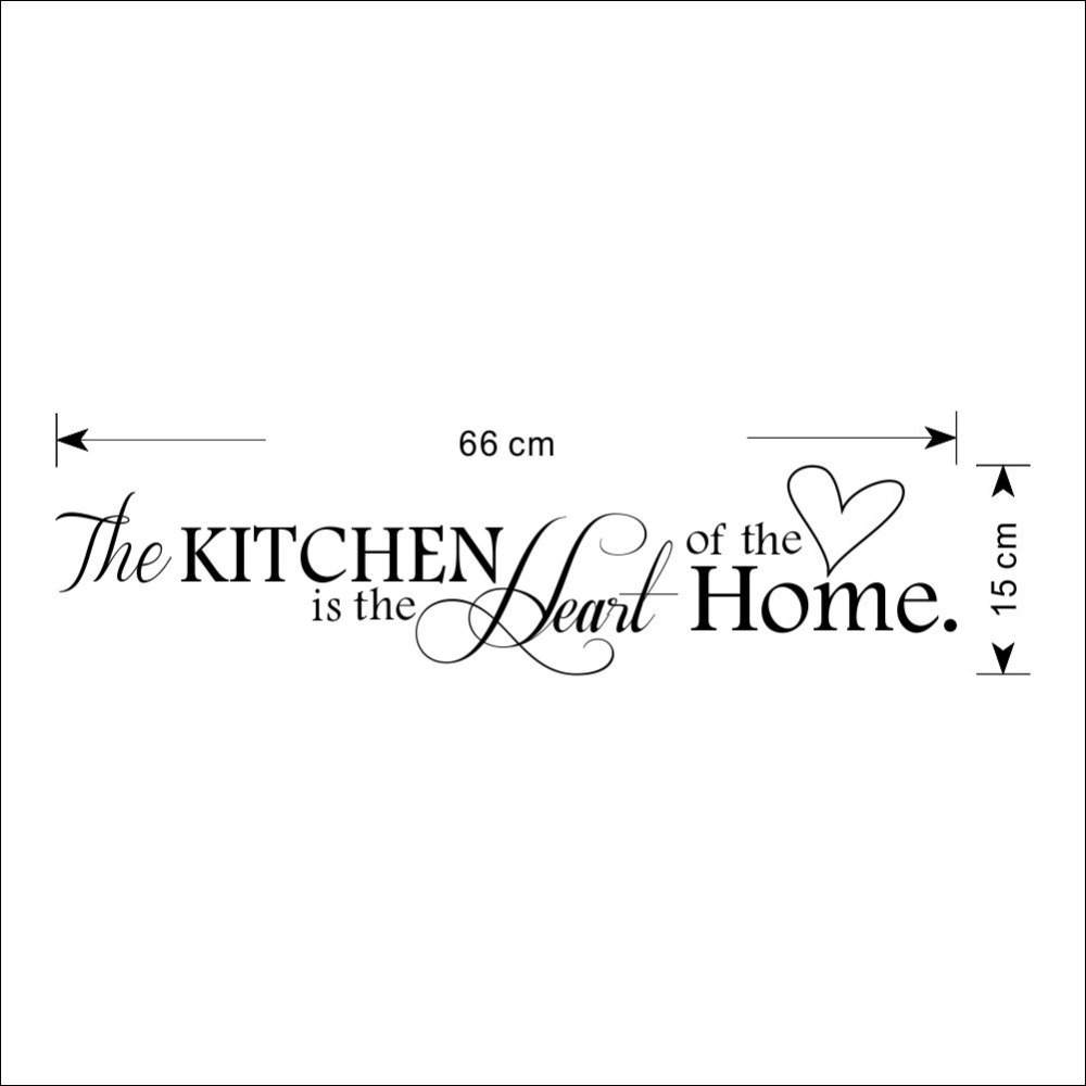 Kitchen is Heart of the Home Wall Sticker 4