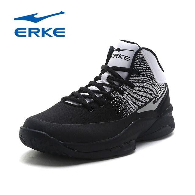 Ерке оригинальный Для мужчин профессиональной Баскетбольные кеды спортивный человек Высокая спортивная обувь traniers Спортивная обувь Zapatos де Baloncesto 2017
