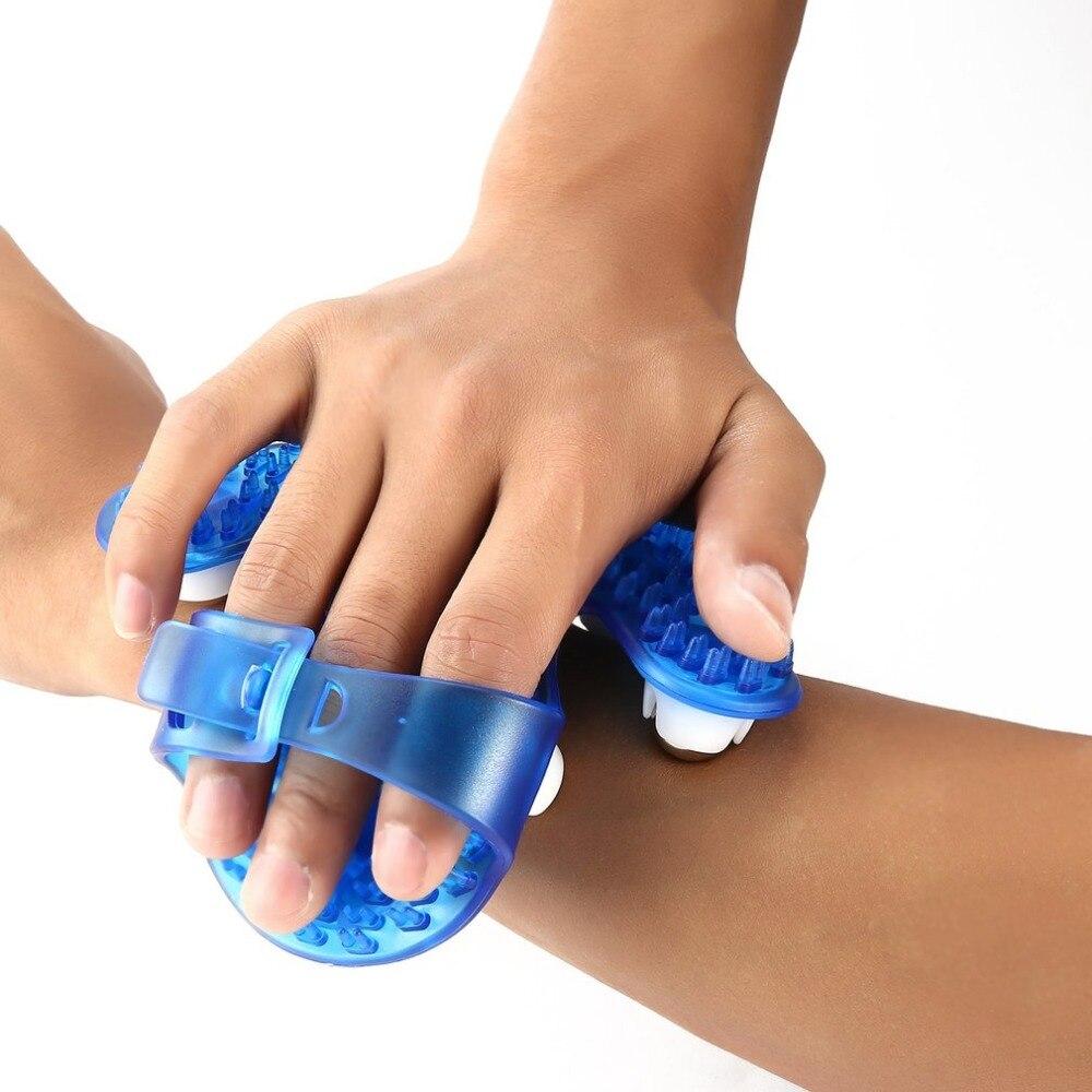 רולר כדור גוף עיסוי כפפה אנטי צלוליט שרירים כאב סיוע תירגע לעיסוי עבור יד צוואר חזרה כתף ישבן בריאות טיפול