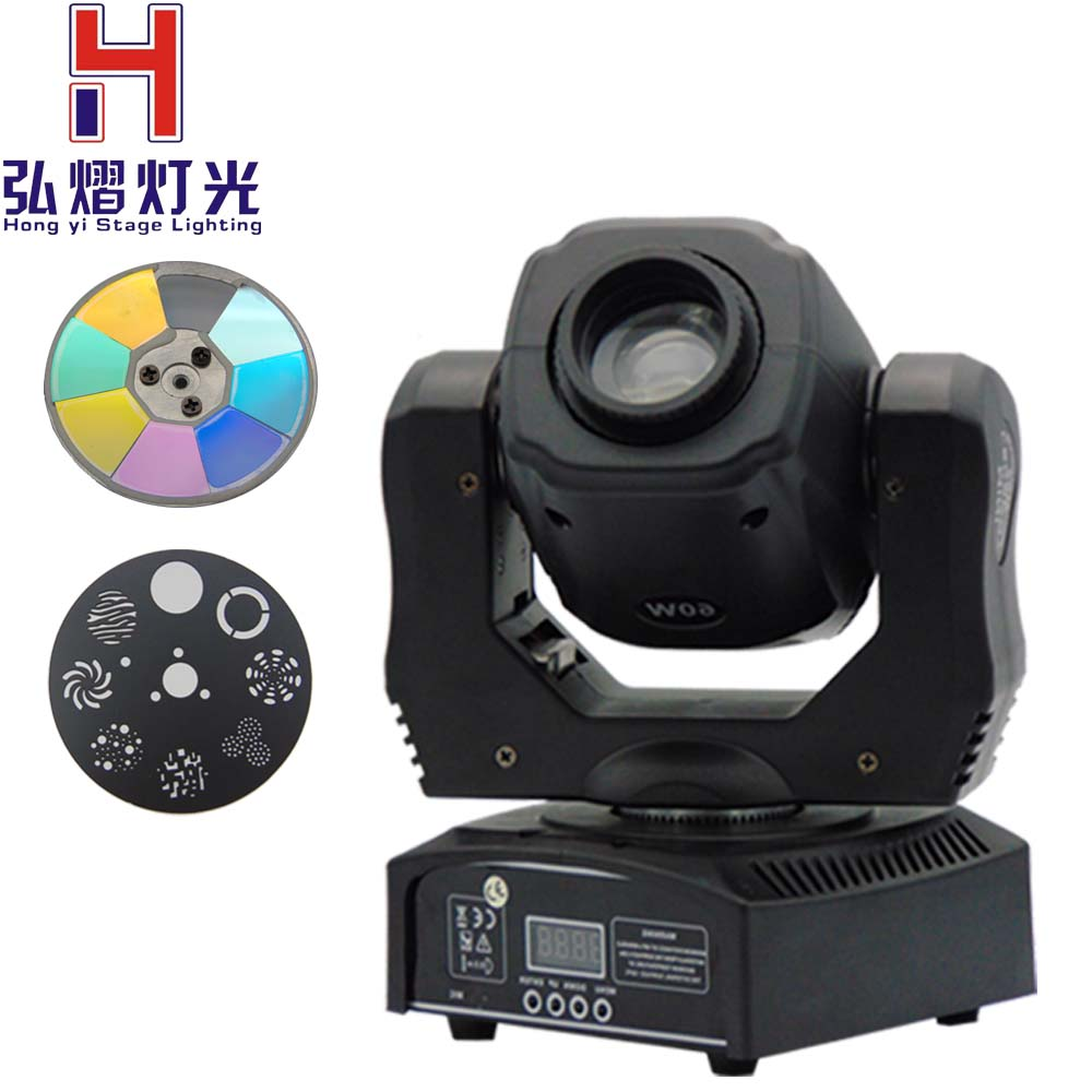 New moving 60w LED gobo Moving Head Lighting spot lighting dj set gobo christmas lights dj light projector for bar party event 4 pieces lot moving head 30w gobo led lighting spot light dj set gobo christmas lights dj light projector for bar party event