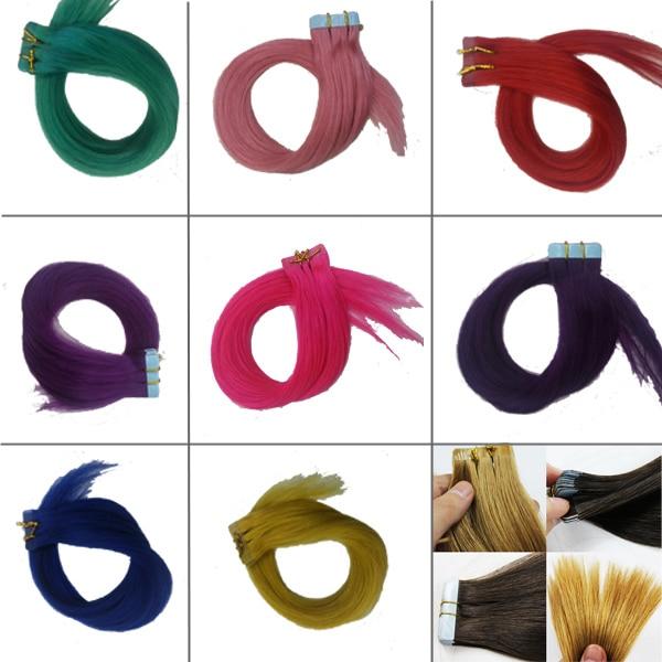 16 8 vivid color natural tape hair extensions 20g lot pu tape 16 8 vivid color natural tape hair extensions 20g lot pu tape glue pmusecretfo Gallery