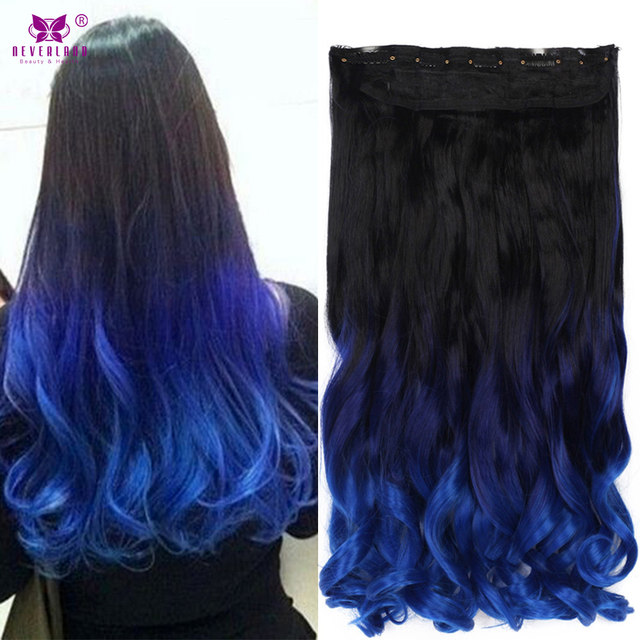Online Shop Aimei Synthetic Clip In Hair Extensions 20 One Piece