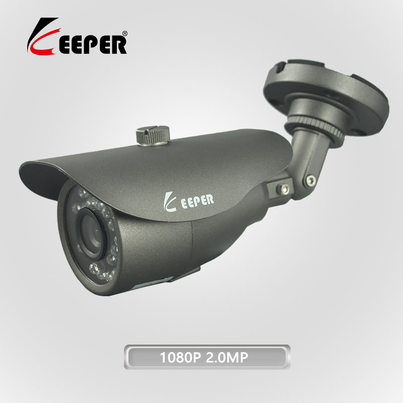 Keeper 1080P 2 0MP Full HD AHD Outdoor Waterproof Metal Bullet Security Surveillance CCTV Video font