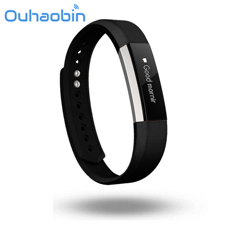 Ouhaobin Replacement Luxury Genuine Leather Band Strap Bracelet For Fitbit Alta Tracker Oct 9 Dropship