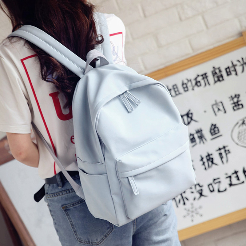 Youth Girl School Bags For Sale Women PU Leather Backpacks Preppy Style Schoolbags Fresh Travel Bags For Teenager Pink Backpack цена 2016