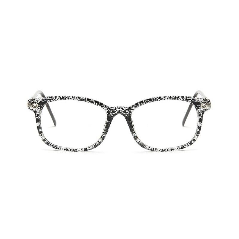 e1011ce6d2 Fashion Newest Style Plain Eyeglass Frame Optics Clear Reading Glasses  Trendy Goggles for Men Women oculos feminino 8105-in Eyewear Frames from  Apparel ...