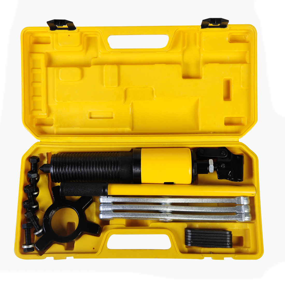 Best Sale 10 Ton Hydraulic Puller Bearing Hub Separator Garage Tool Set Kit best price mgehr1212 2 slot cutter external grooving tool holder turning tool no insert hot sale brand new