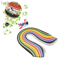 10mm 500 Stripes DIY Handcraft Quilling Paper Assorted Color Origami Paper Craft Slotted Paper Scrapbooking Wedding