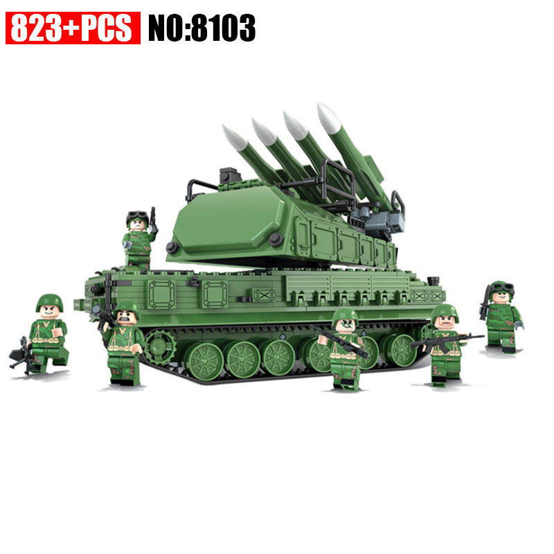 Winner Military Model Toy Building Blocks The Russian 9M317 Air Defense Missile Assembly Education Toys brick Toys for children 8 in 1 military ship building blocks toys for boys