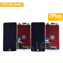 10Pcs/lot OEM For iphone 7 Plus LCD Display Touch Screen Digitizer Panel Pantalla monitor Assembly Complete 3D 5.5
