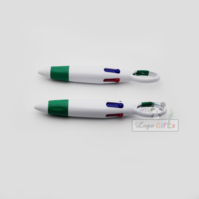 Brand plastic mon pens with colorful ink refills can custom with your company brand FREE